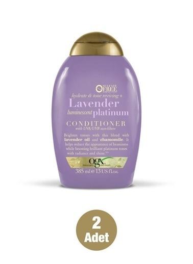 Organix Ogx Sarı Saçlar Renk Koruyucu Lavender Platinum Bakım Kremi 385  Renksiz